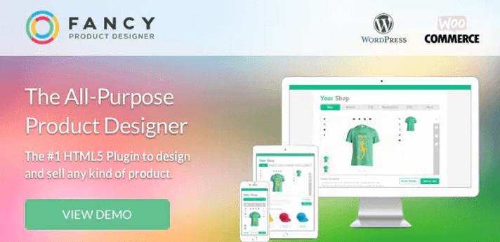 The Fancy Product Designer plugin.