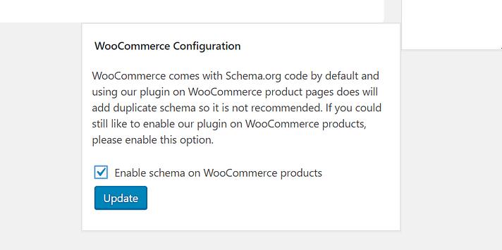 конфигурация woocommerce