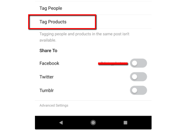 tag products