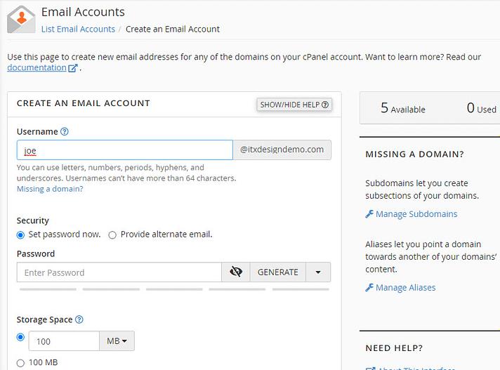 tạo một tài khoản email