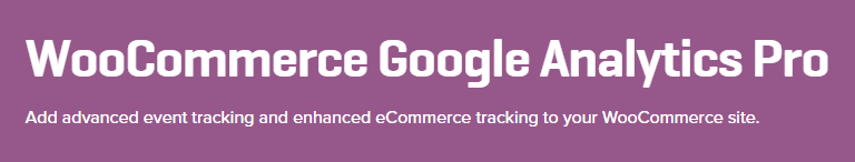 WooCommerce Google Analytic Pro's homepage.