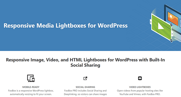 FooBox official WordPress lightbox plugin page