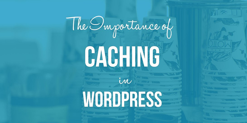 caching in WordPress