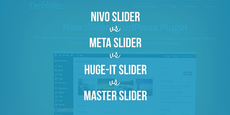 Nivo vs Meta vs Huge-IT vs Master Slider
