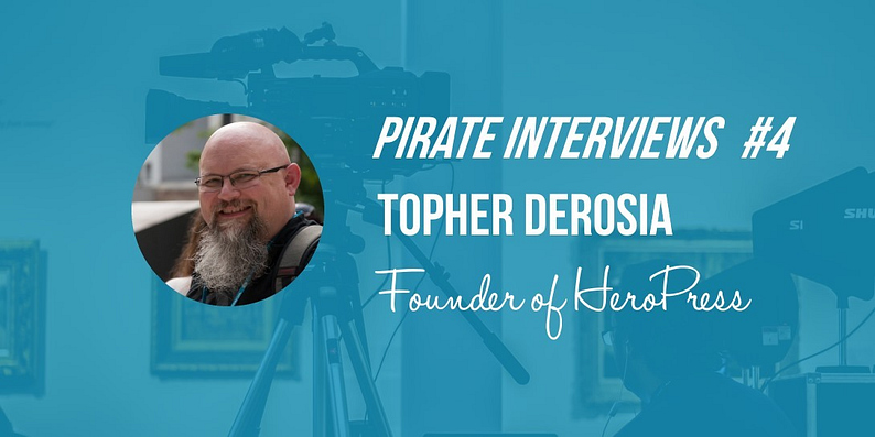 Topher DeRosia interview