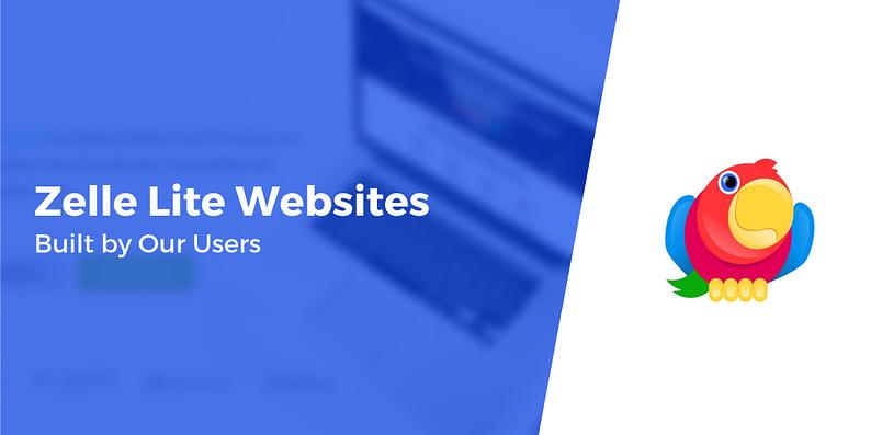 Zelle Lite Websites