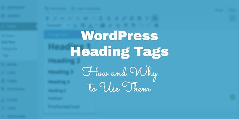 WordPress Heading Tags