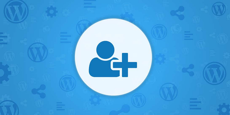 USER REGISTRATION ON WORDPRESS