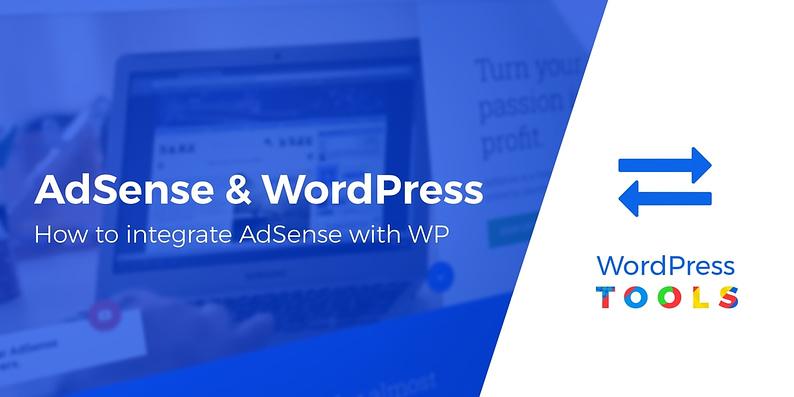 integrate AdSense with WordPress