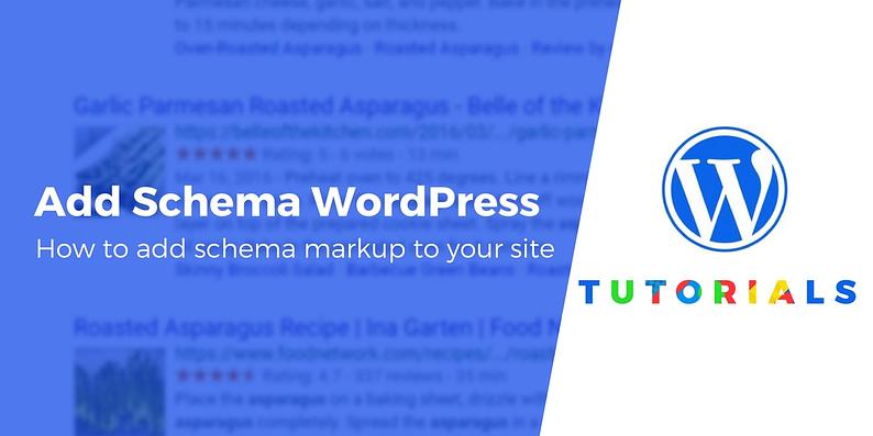 add schema to wordpress