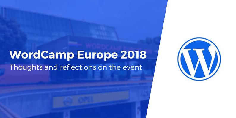 WordCamp Europe 2018