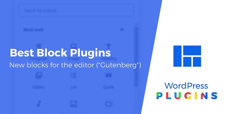 best block plugins for WordPress