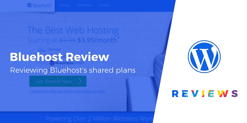 Bluehost review for WordPress