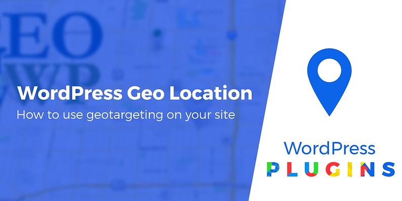 WordPress geo location