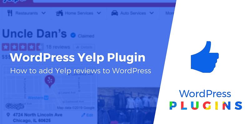 WordPress Yelp plugin