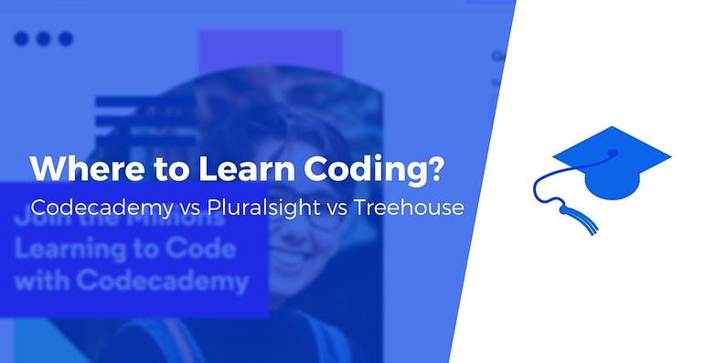 codecademy vs pluralsight vs treehouse