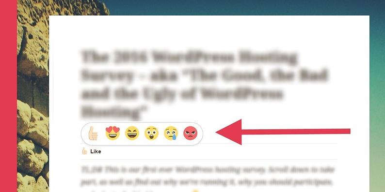 Add Facebook Reactions to WordPress