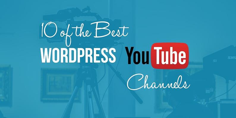 WordPress YouTube channels