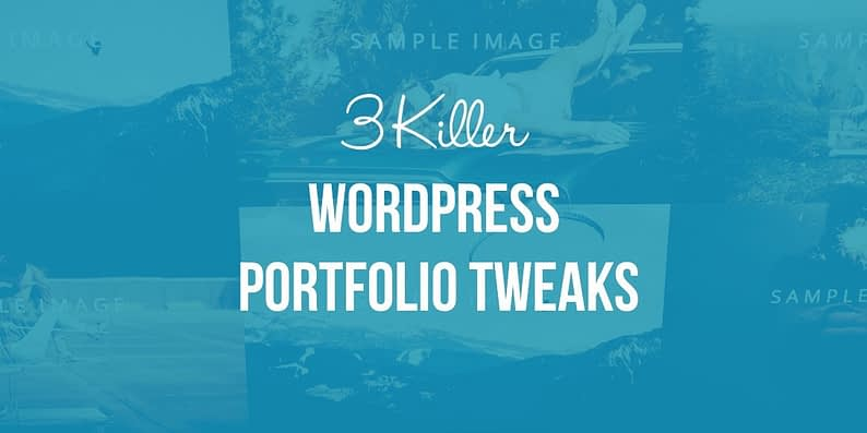 WordPress Portfolio Tweaks