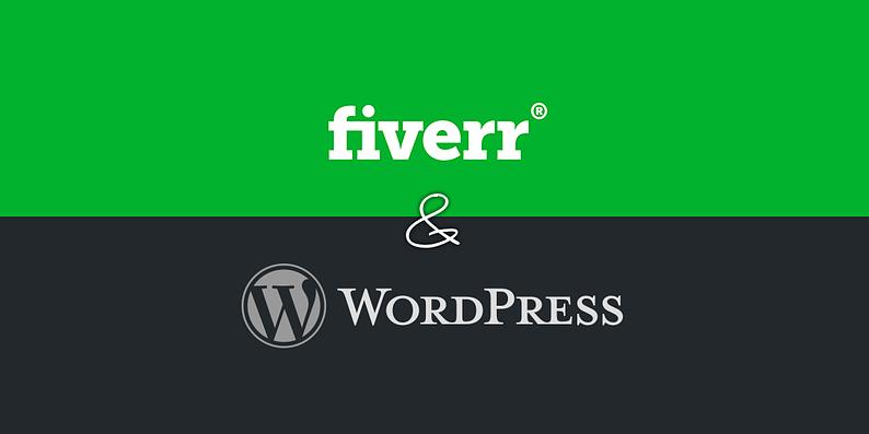 Fiverr WordPress gigs
