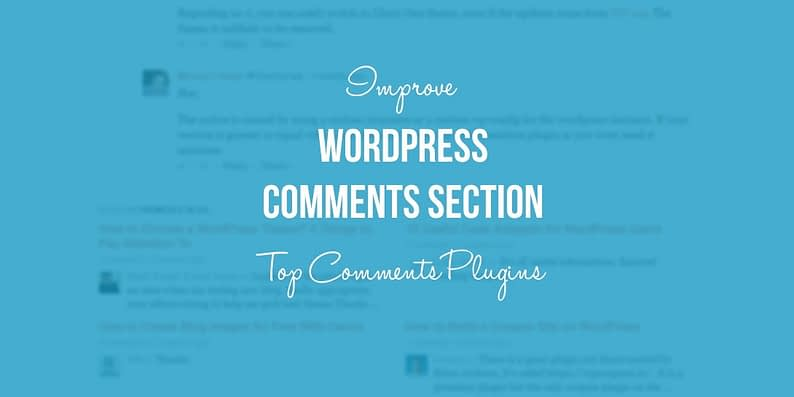 WordPress comments plugins