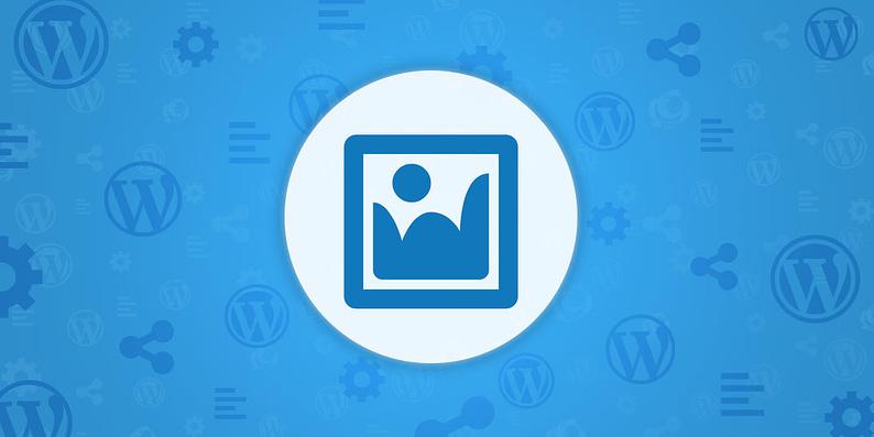 WordPress photography website
