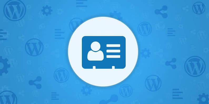 WordPress customer database