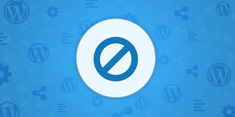 whitelist IP addresses in WordPress