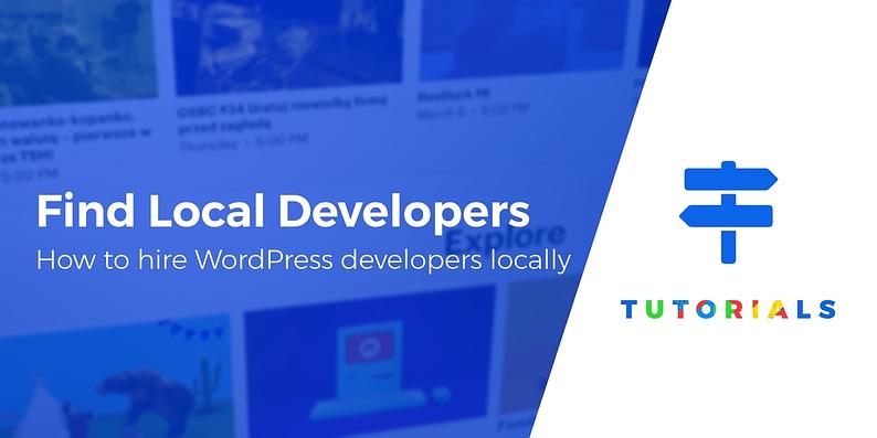 hire WordPress developers locally