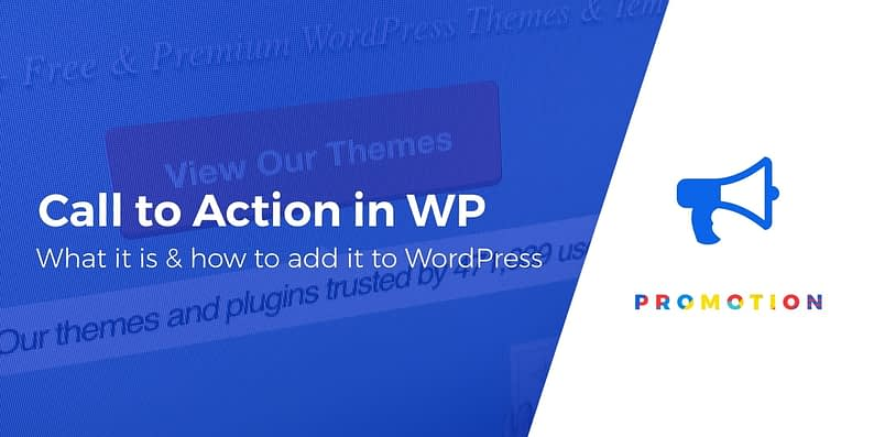 add call to action to WordPress