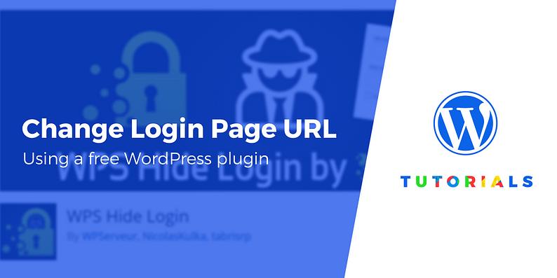 WordPress login page URL