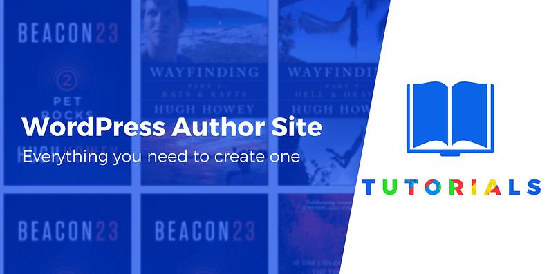 WordPress author website