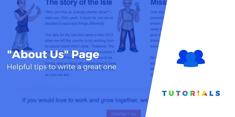 How to Write an About Us Page