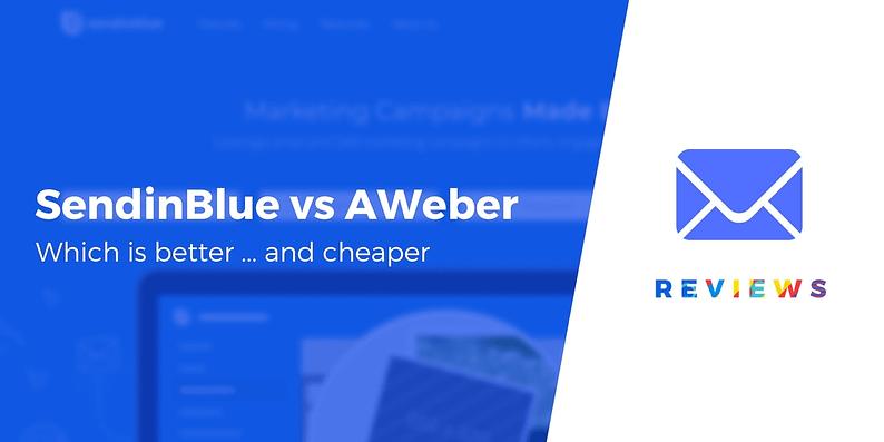 SendinBlue vs AWeber