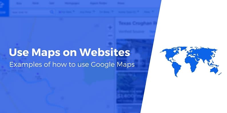 Use Google Maps on website