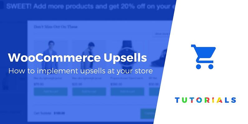 WooCommerce upsell