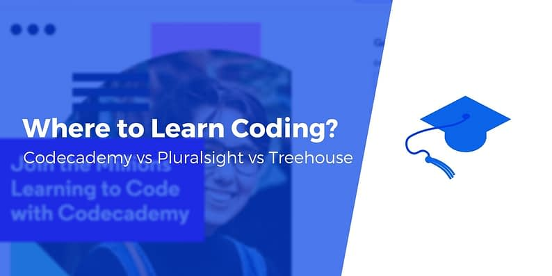codecademy vs pluralsight vs treehouse