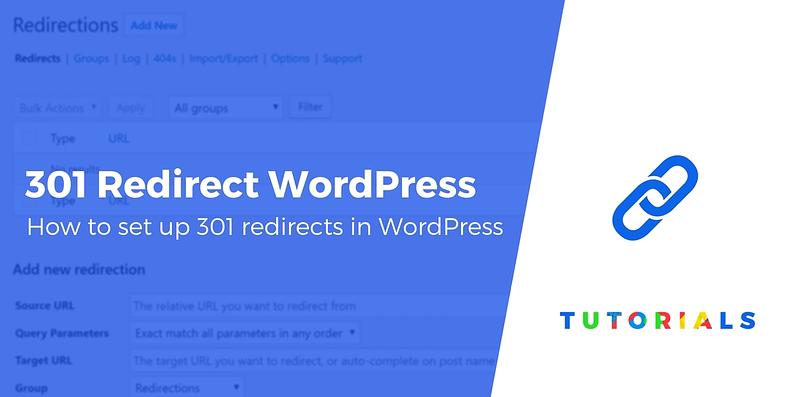 301 Redirect WordPress