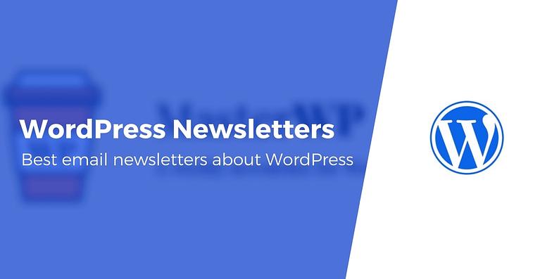 WordPress newsletters