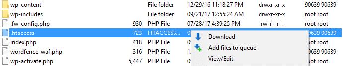 Using the WordPress htaccess file to tighten WordPress security.