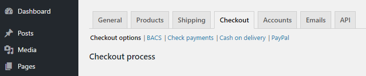 Checking the settings for your WooCommerce payment processor.
