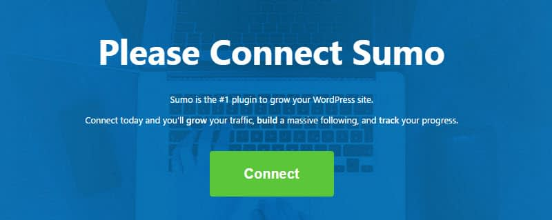Exit intent pop-ups Connect Sumo