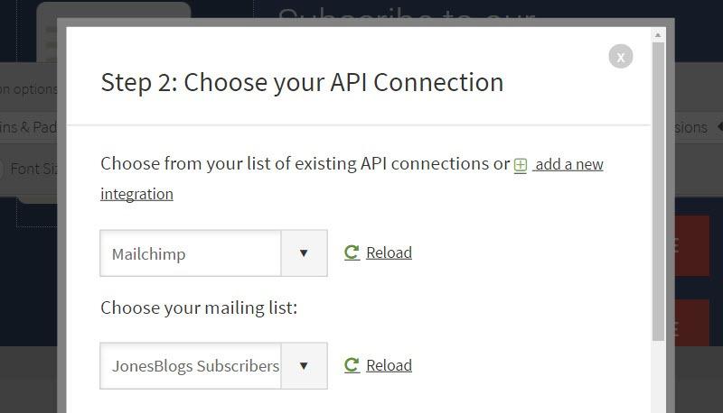 API connection