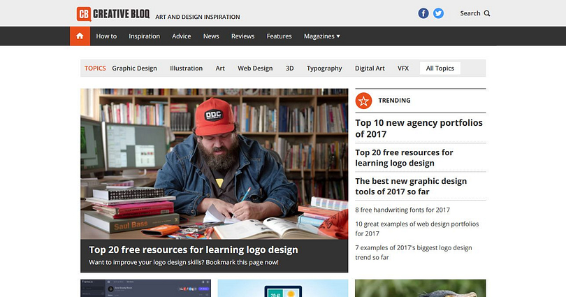 WordPress web design resources: Creative Bloq