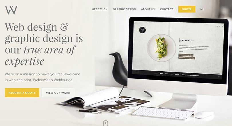 Web Lounge Homepage