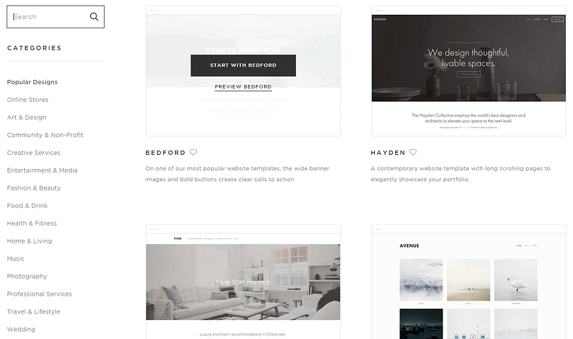 squarespace might be the best website builder for you