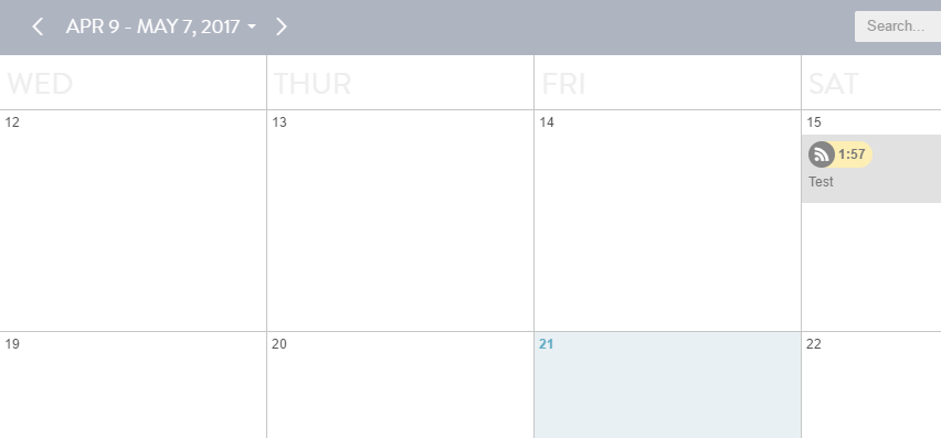 Your WordPress editorial calendar using CoSchedule.