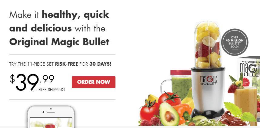 The Magic Bullet website.
