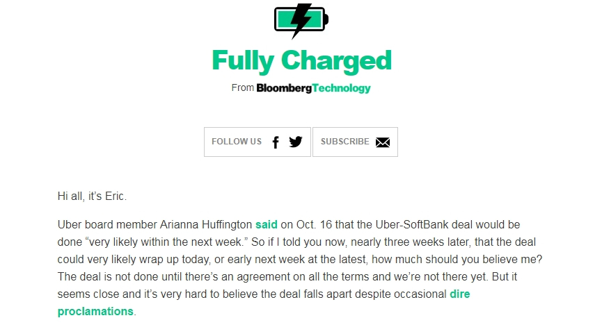 fully charged one of the best free tech newsletters
