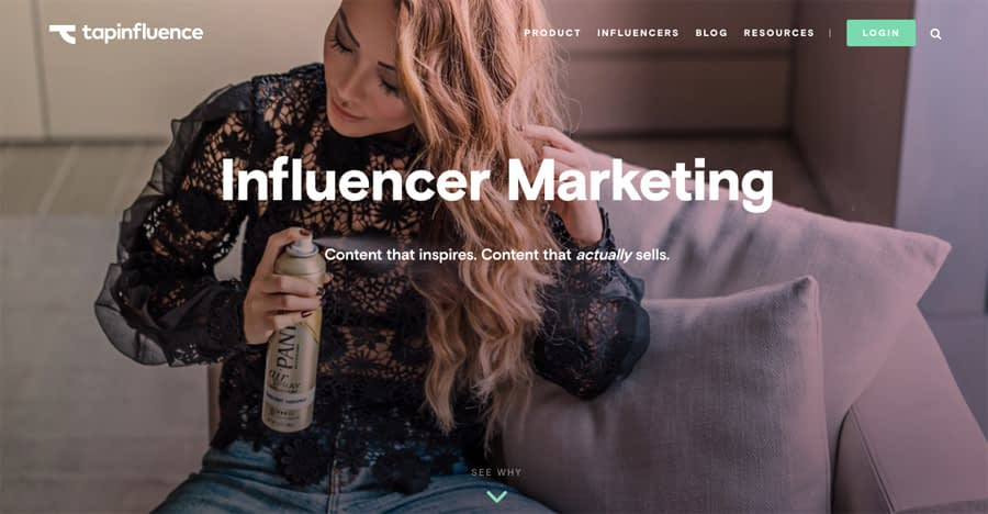 TapInfluence Instagram analytics tools